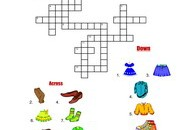 Clothes-Crossword