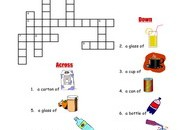 Drinks-Crossword