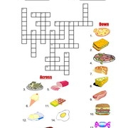 Actions crossword 2 Puzzle Worksheet