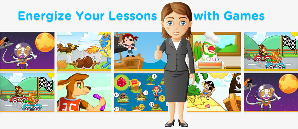 free interactive games for learning english