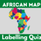 Africa map labelling